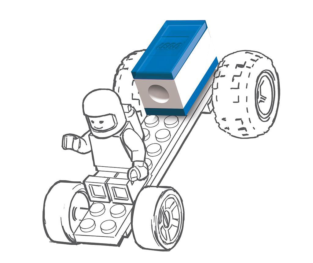 Set 2 šilčkov Lego