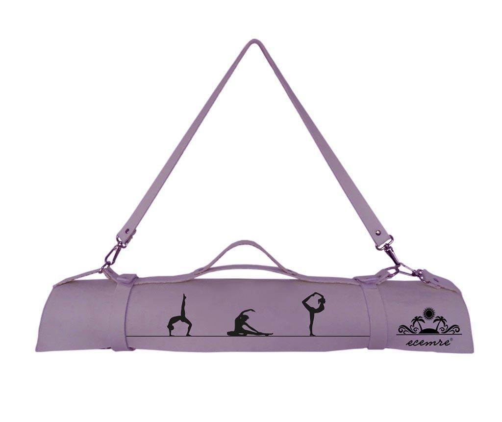 Silhouette Purple Jóga matrac 65x185 cm