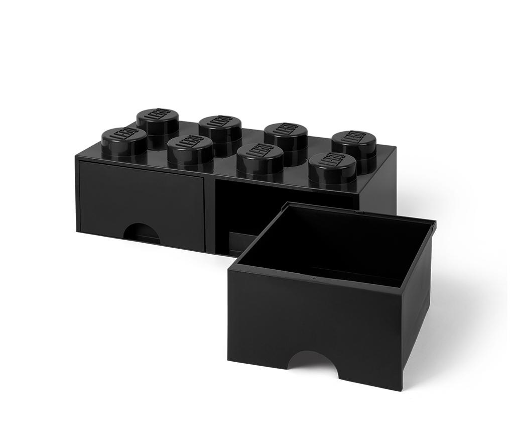 Kutija za spremanje Lego Square Duo Black