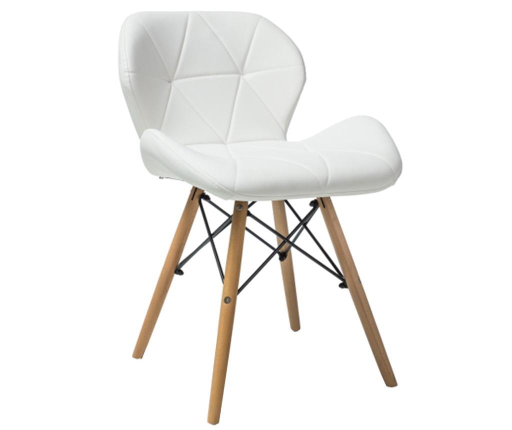 Καρέκλα Pela White