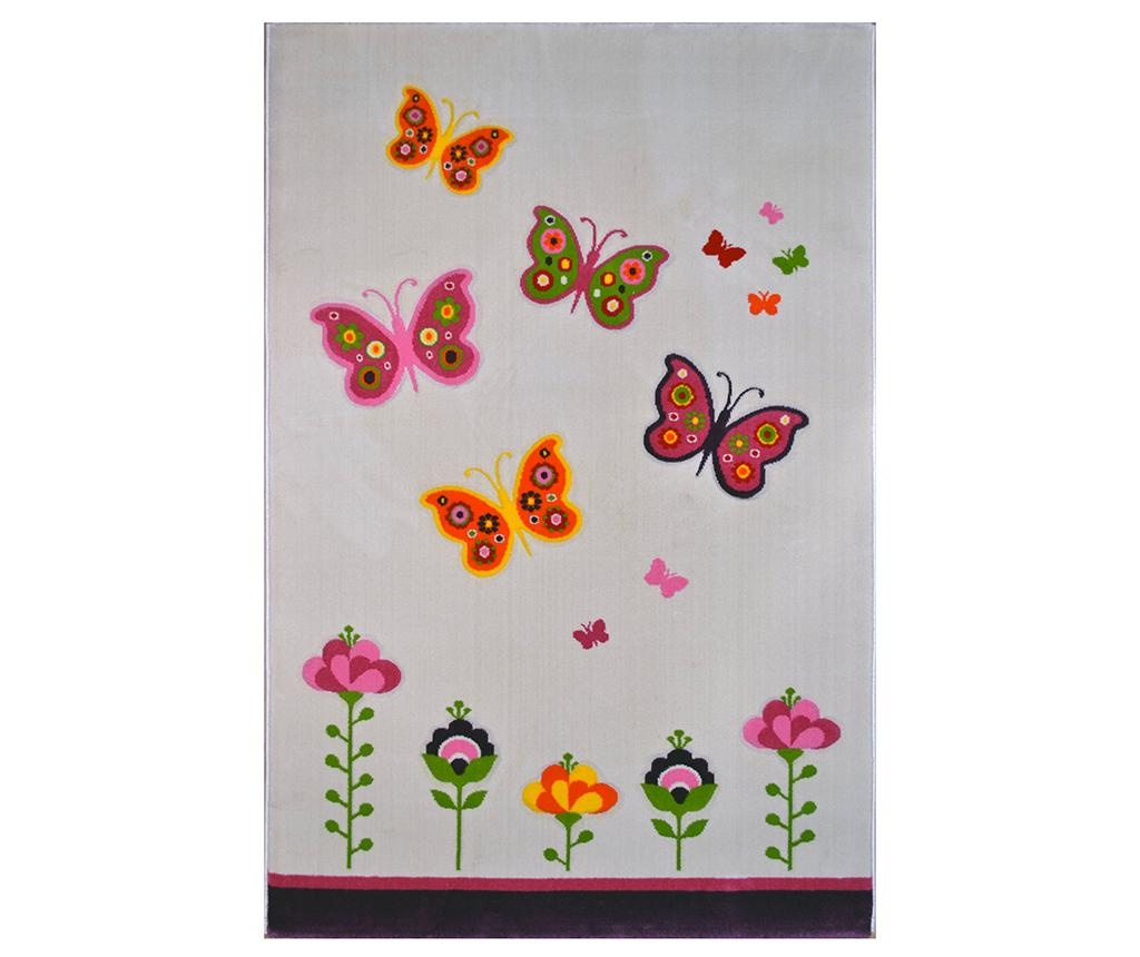 Butterflyes Light Beige Szőnyeg 120x180 cm