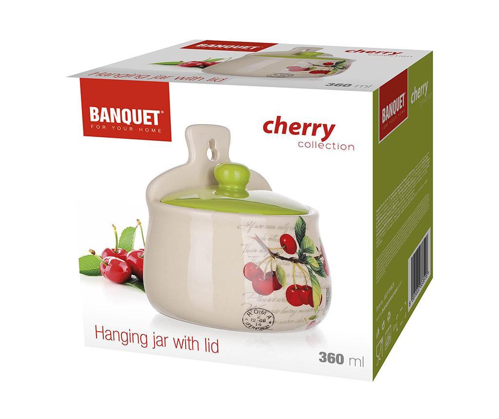 Recipient cu capac Cherry 350 ml