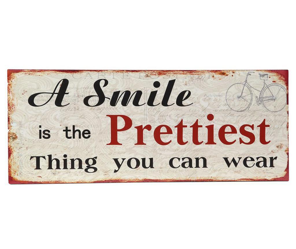 Πίνακας Smile 20x50 cm