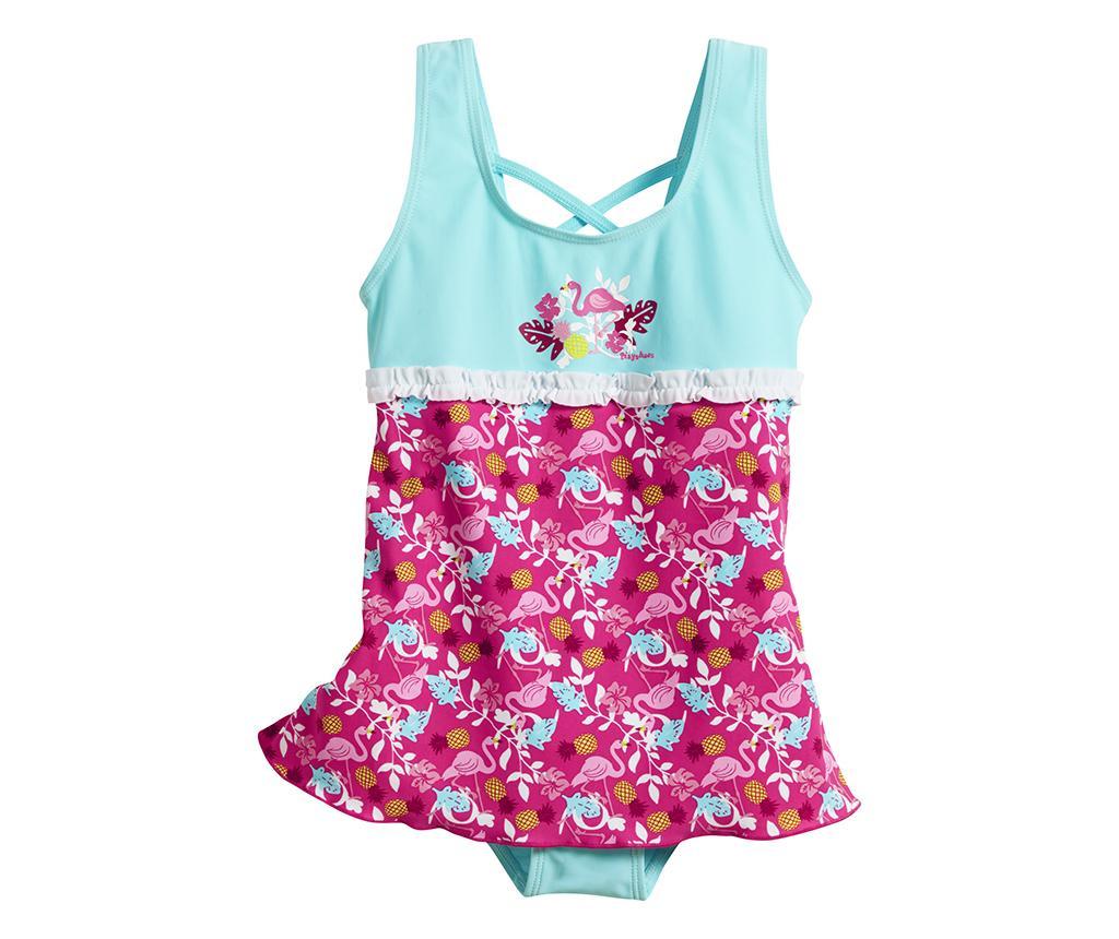 Costum de baie copii Flamingo Skirt 3-4 ani