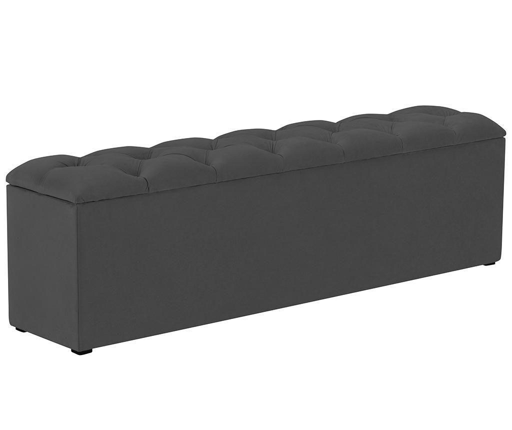 Bancheta Mira Dark Grey XL