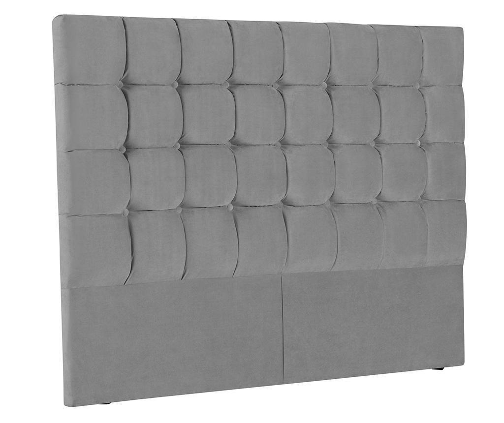 Tablie de pat Milla Light Grey 180 cm