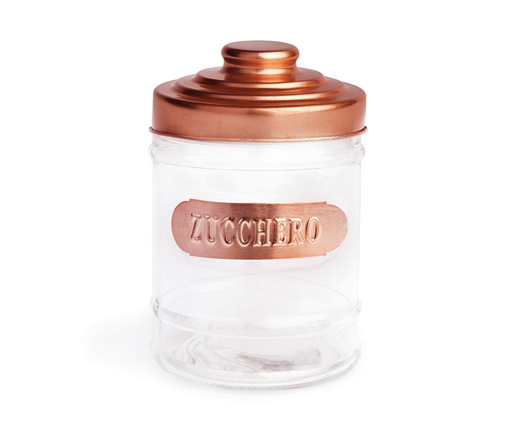 Recipient cu capac pentru zahar Glyna 700 ml