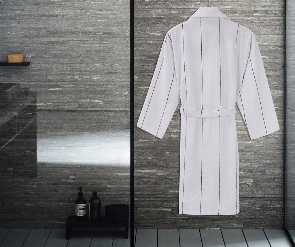 Camden White Dark Blue Unisex fürdőköpeny L/XL