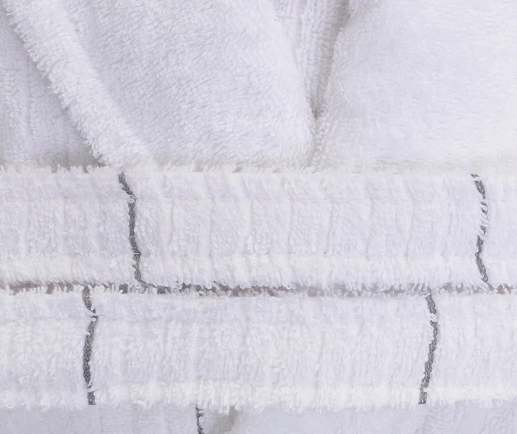 Camden White Grey Unisex fürdőköpeny L/XL