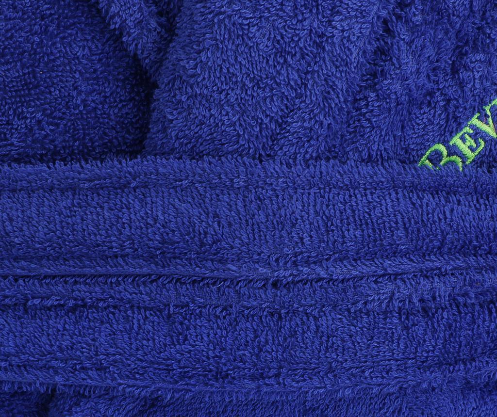 Halat de baie unisex Austen Dark Blue M/L