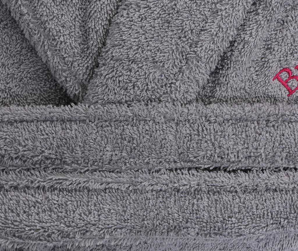 Halat de baie unisex Austen Grey S/M