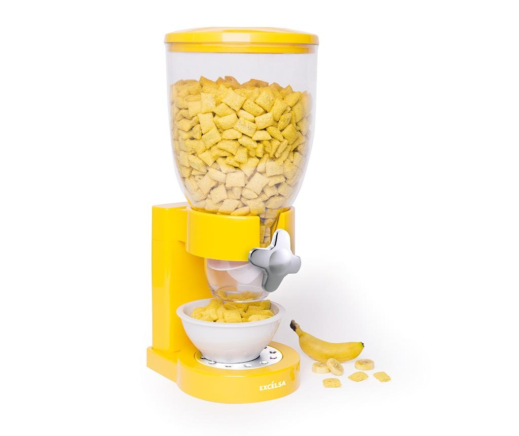 Dispenser pentru cereale Good Morning Yellow