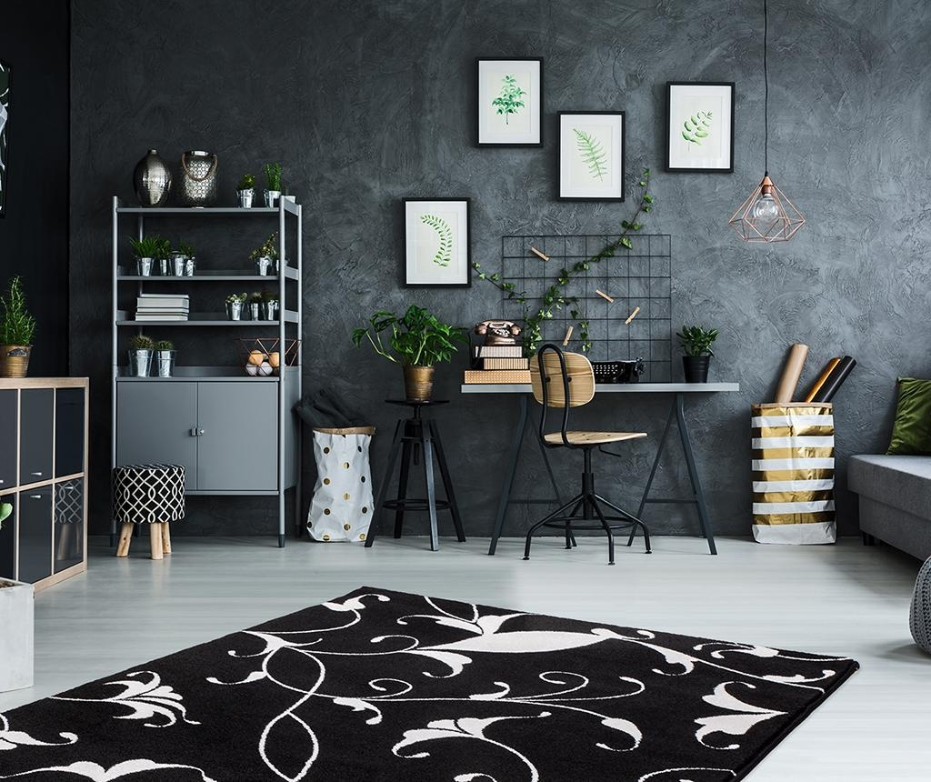 Tepih My Black and White Nero 200x290 cm