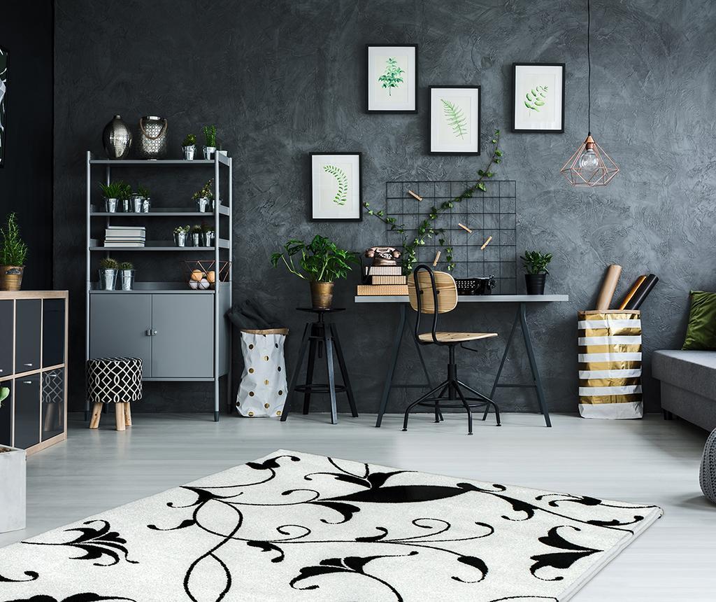 Tepih My Black and White Blanca 200x290 cm
