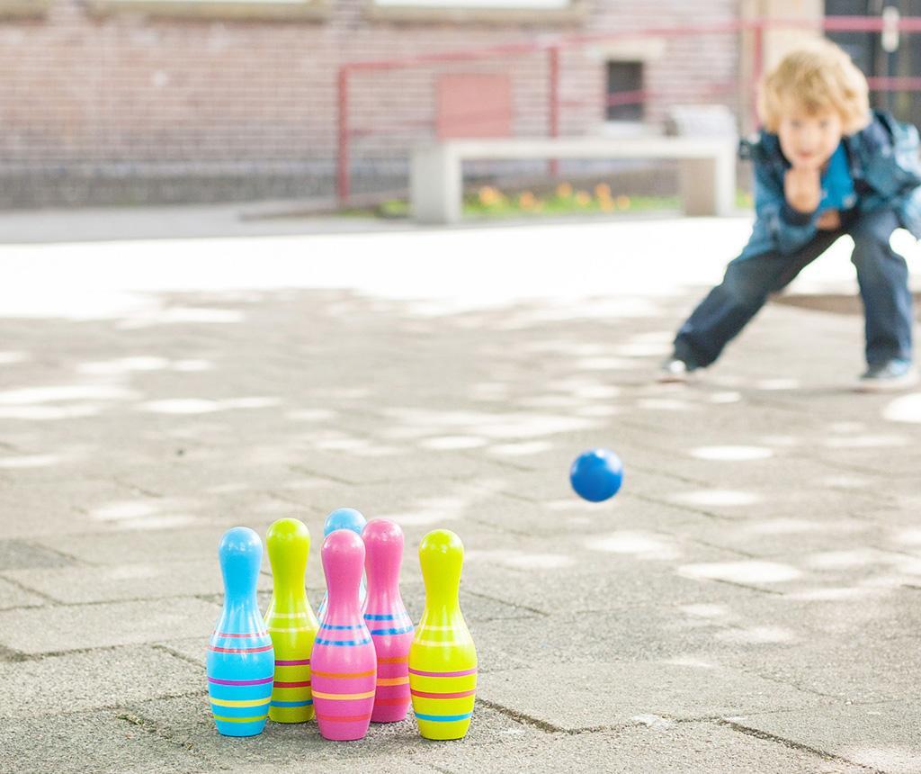 Joc cu popice Skittles Bowling
