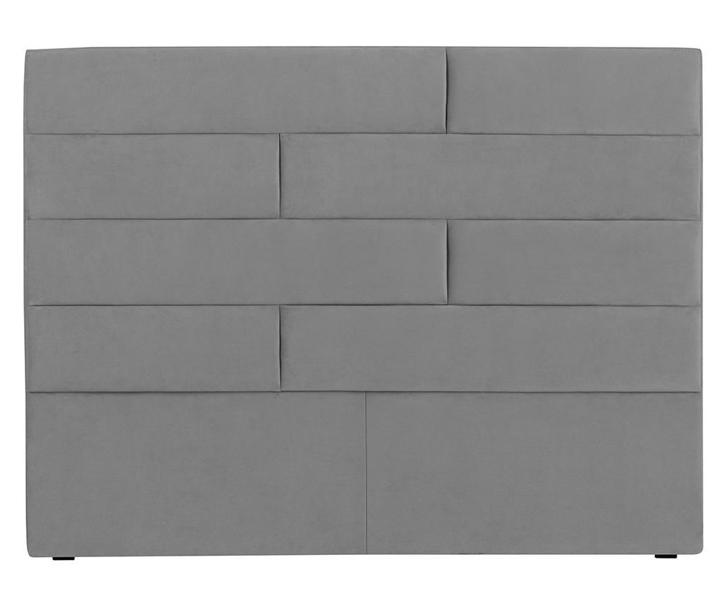 Tablie de pat Bratford Light Grey 140 cm