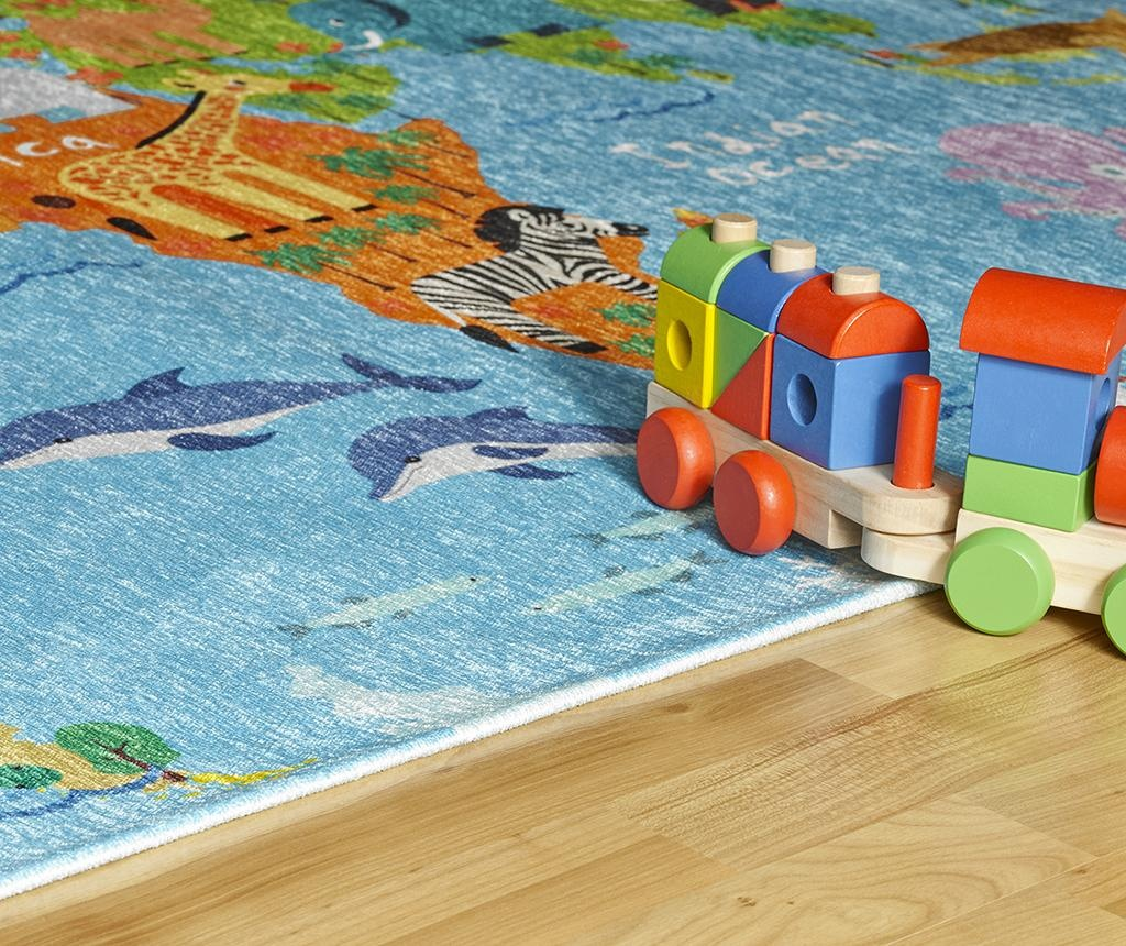 Covor My Torino Kids Map 80x120 cm