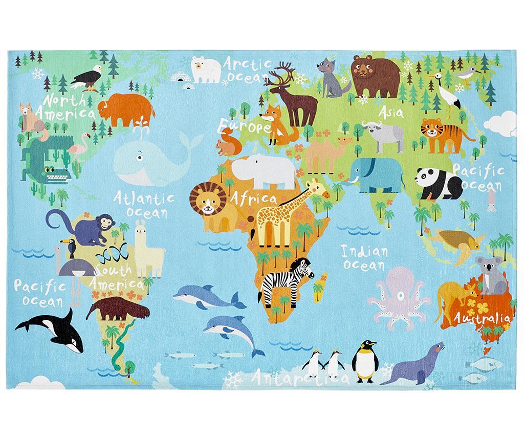 Tepih My Torino Kids Map 120x170 cm
