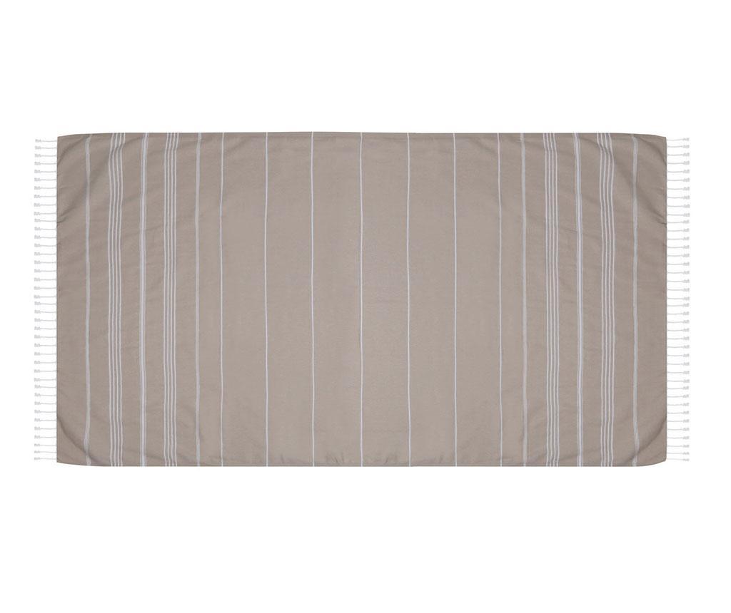 Ručnik za plažu Sultan Beige 100x180 cm
