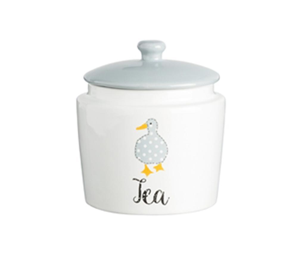Recipient cu capac pentru ceai Duck