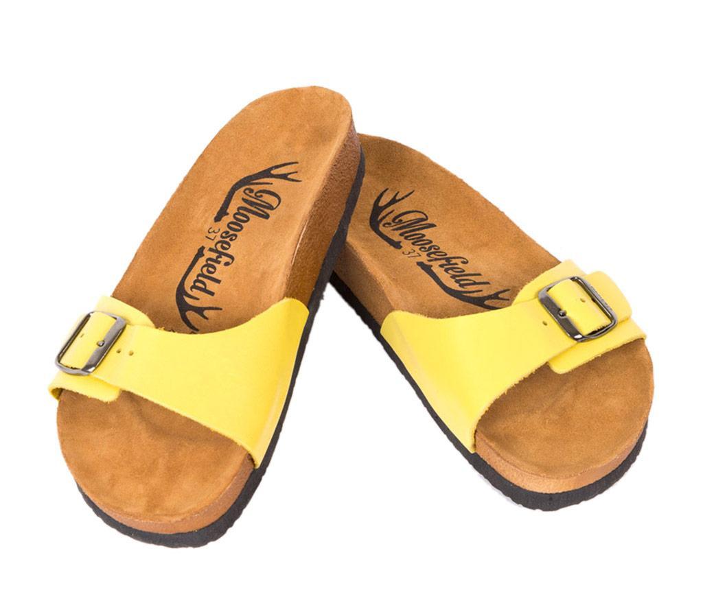 Papuci dama Emmie Yellow 39