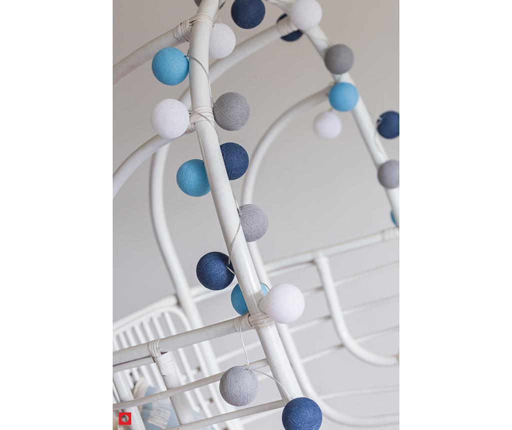 Ghirlanda luminoasa Favorites Sailor Blue 264 cm