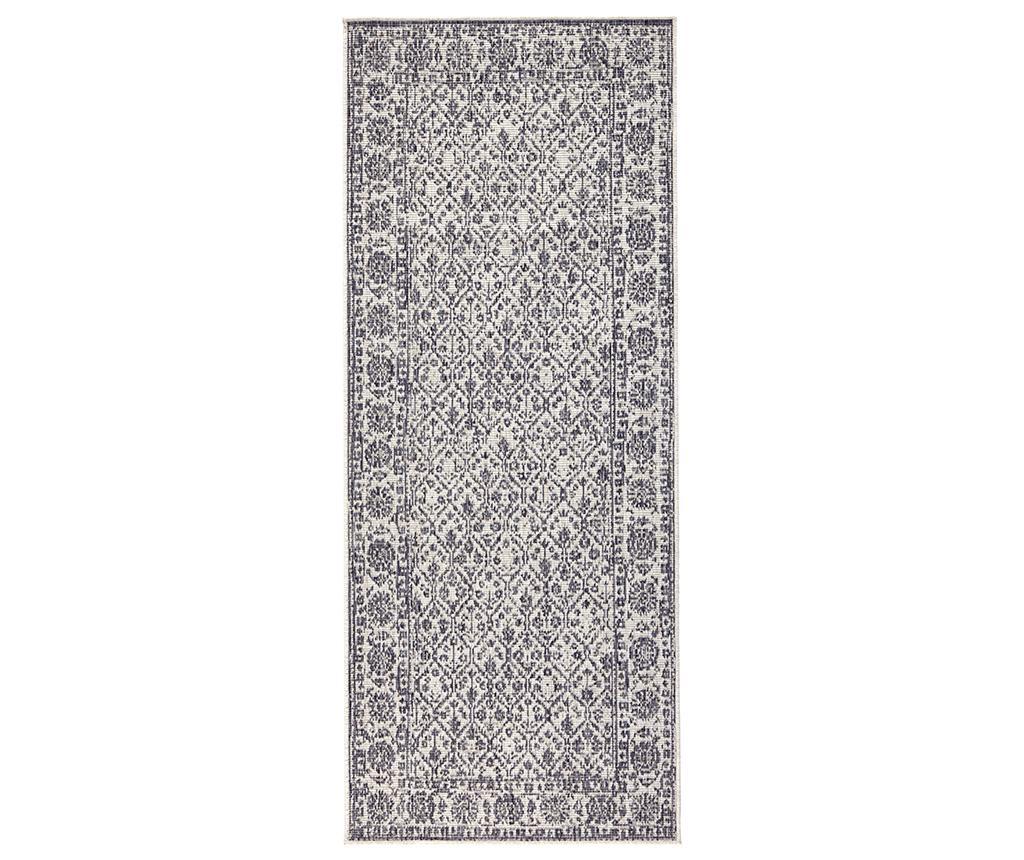 Twin Curacao Grey Cream Kültéri szőnyeg 80x350 cm