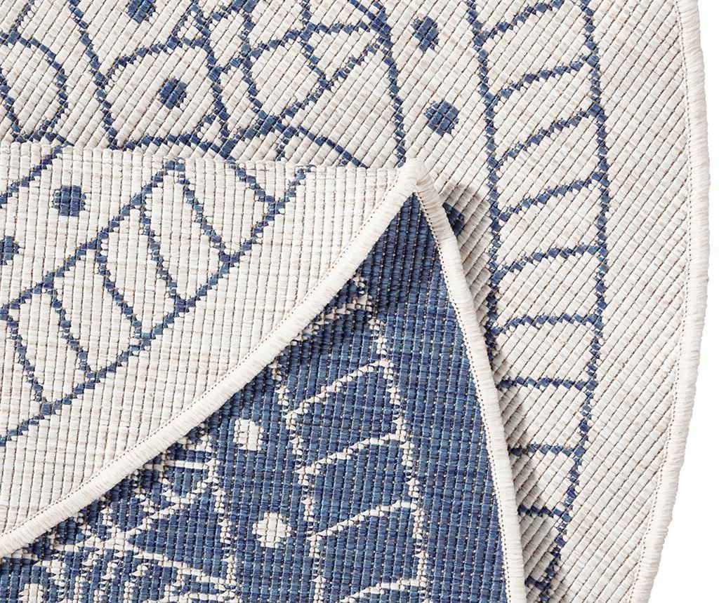 Covor de exterior Twin Porto Blue Cream 140 cm
