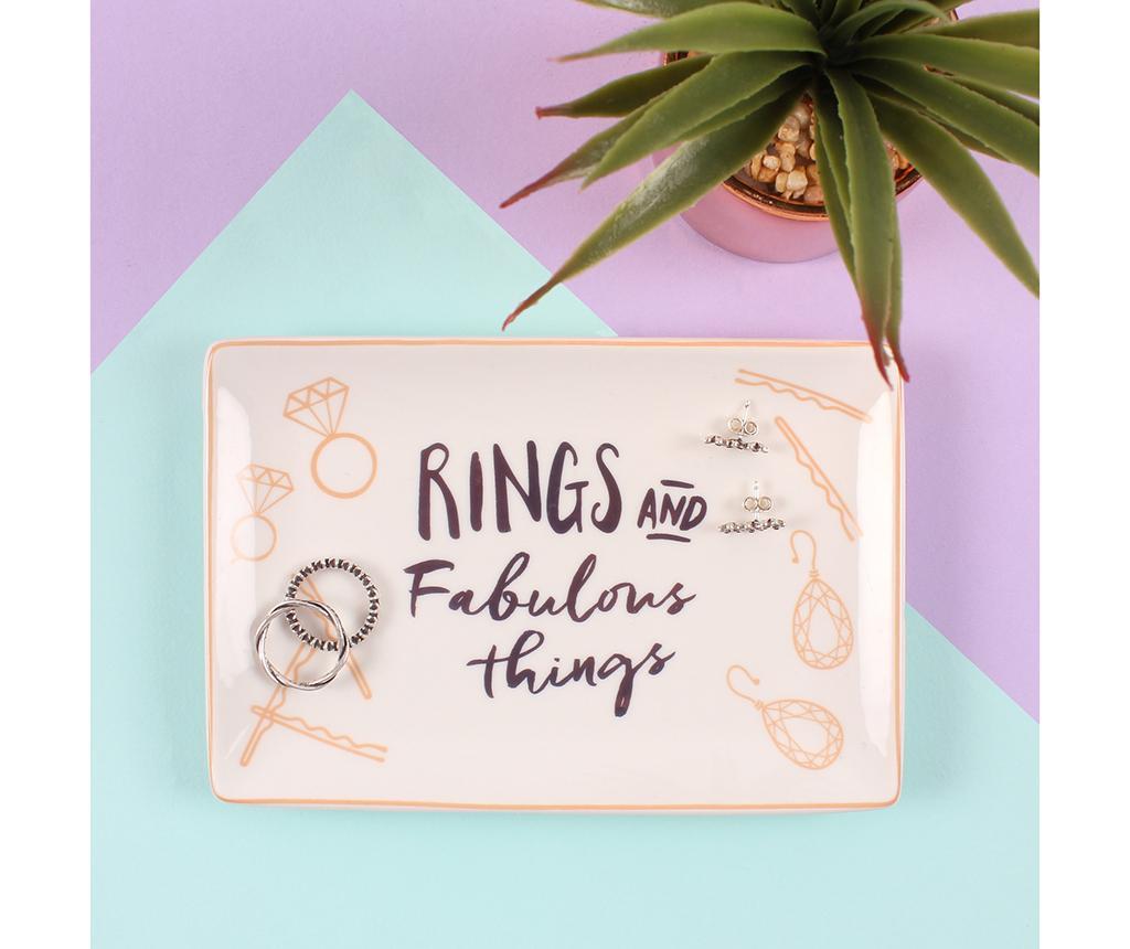 Suport pentru bijuterii Rings and Fabulous Things
