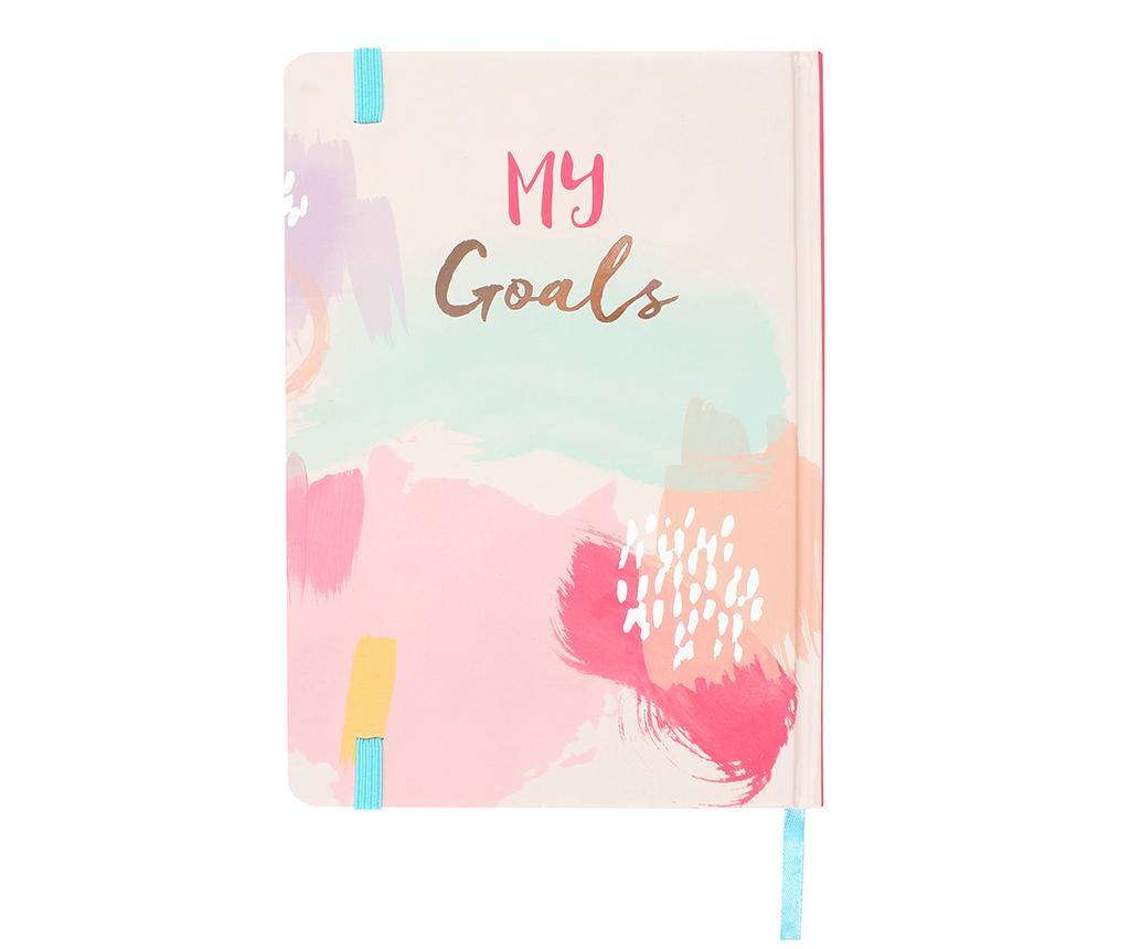 My Goals Jegyzetfüzet A5