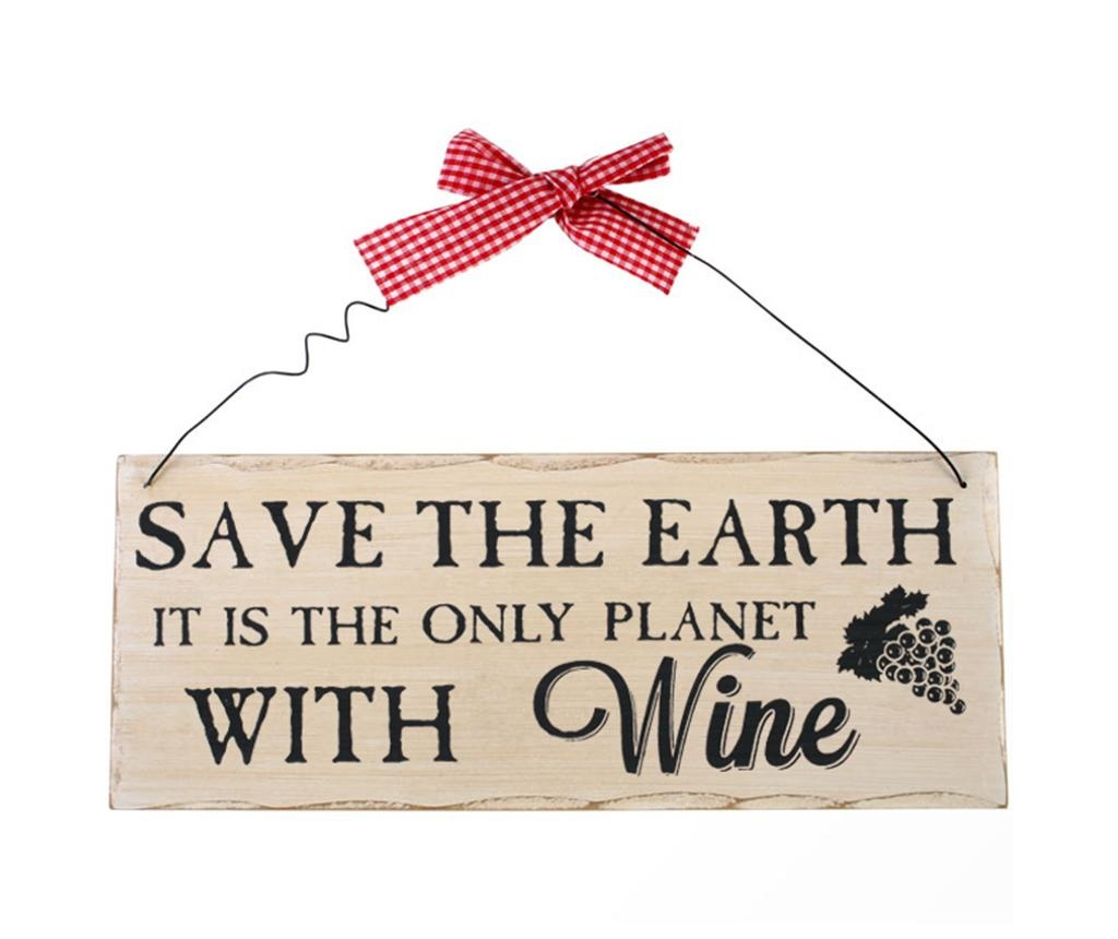 Decoratiune de perete Save The Earth
