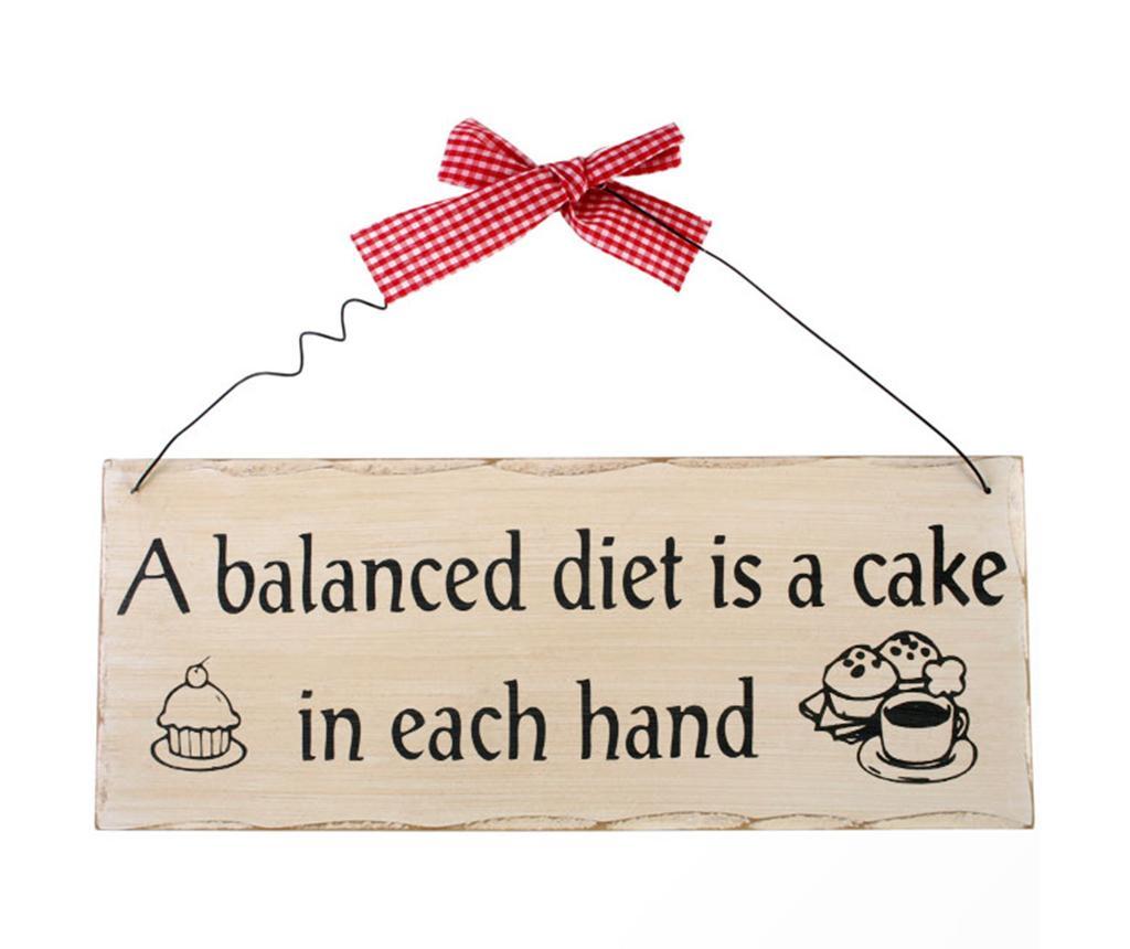 Stenska dekoracija Balanced Diet