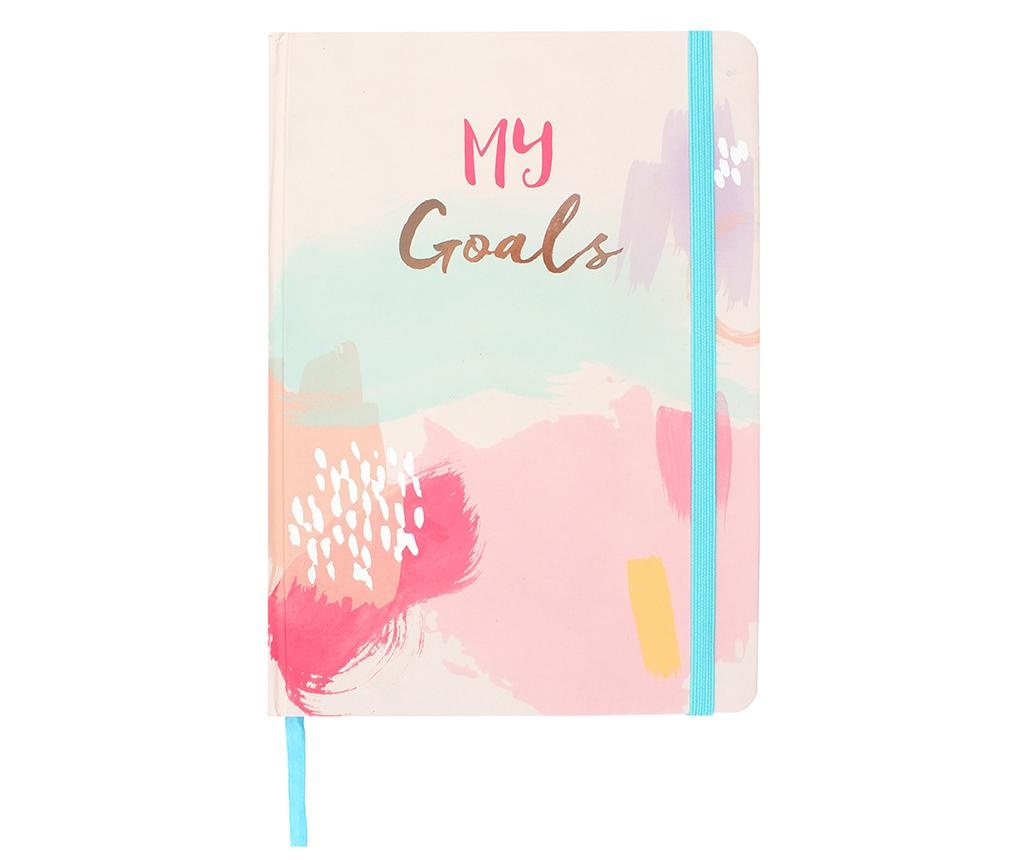 Carnetel My Goals A5