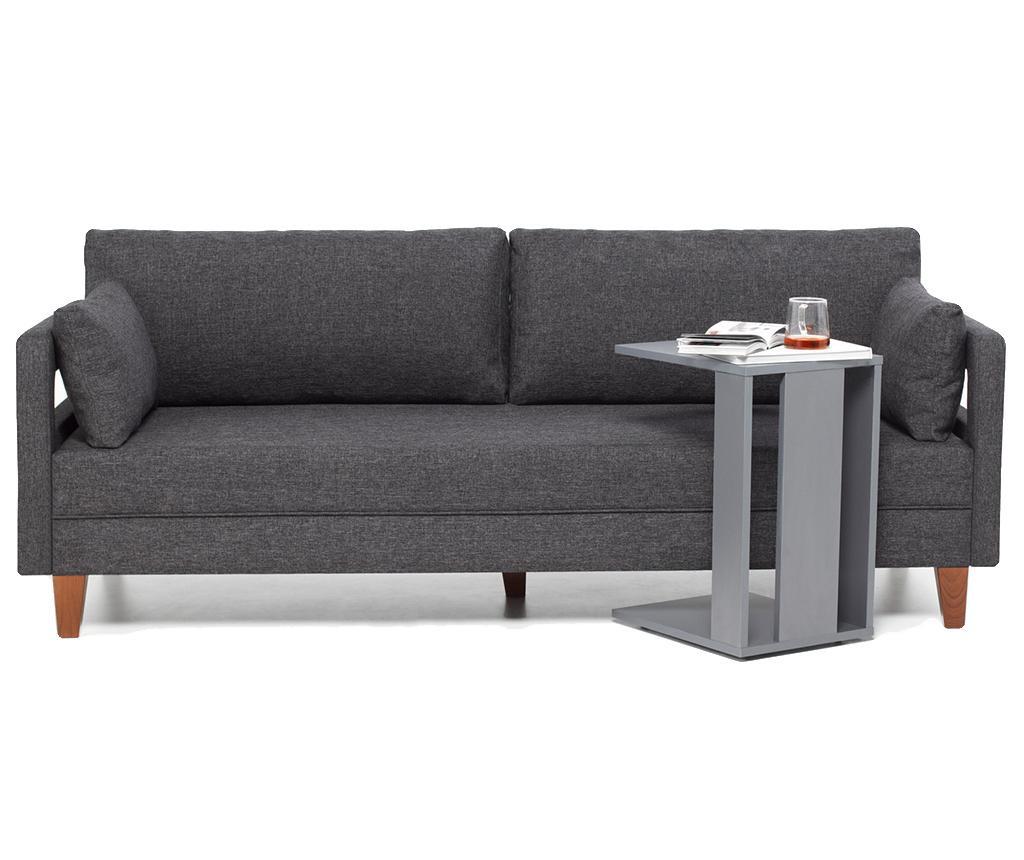Canapea 3 locuri Comfort Grey