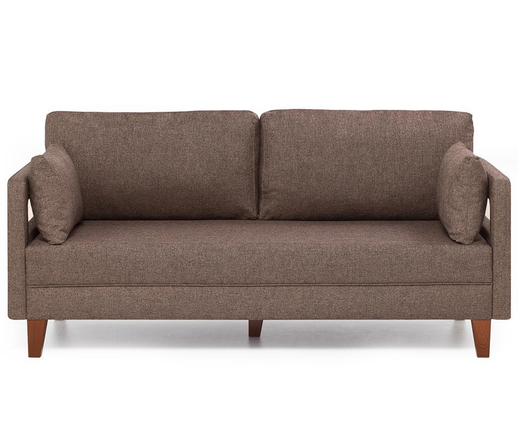 Canapea 2 locuri Comfort Brown