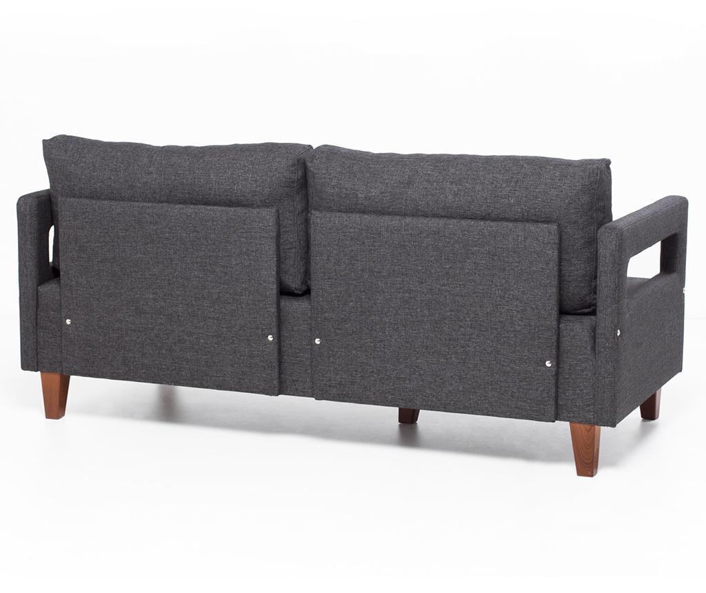 Canapea 2 locuri Comfort Grey