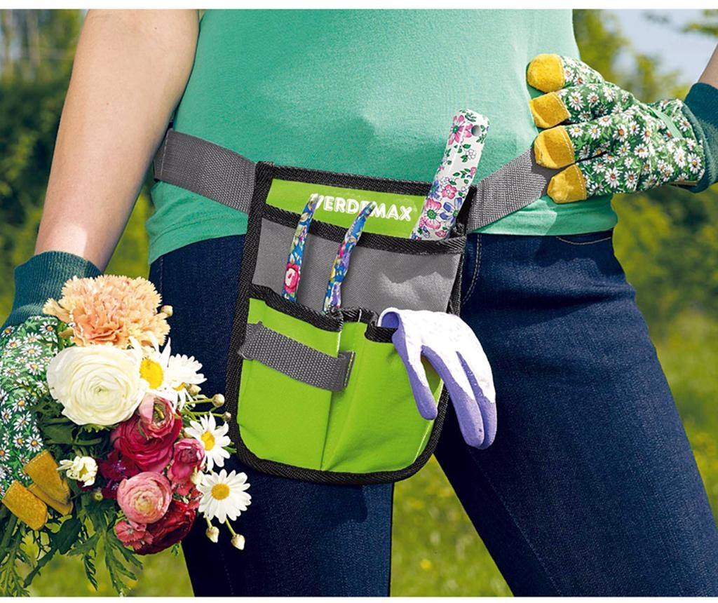 Deluxe Pouch Szerszámtartó öv kertészkedéshez