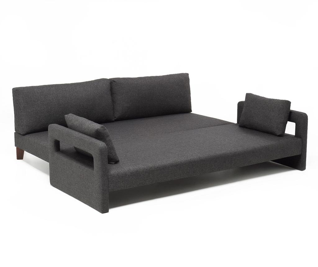 Třímístná rozkládací pohovka Comfort Grey