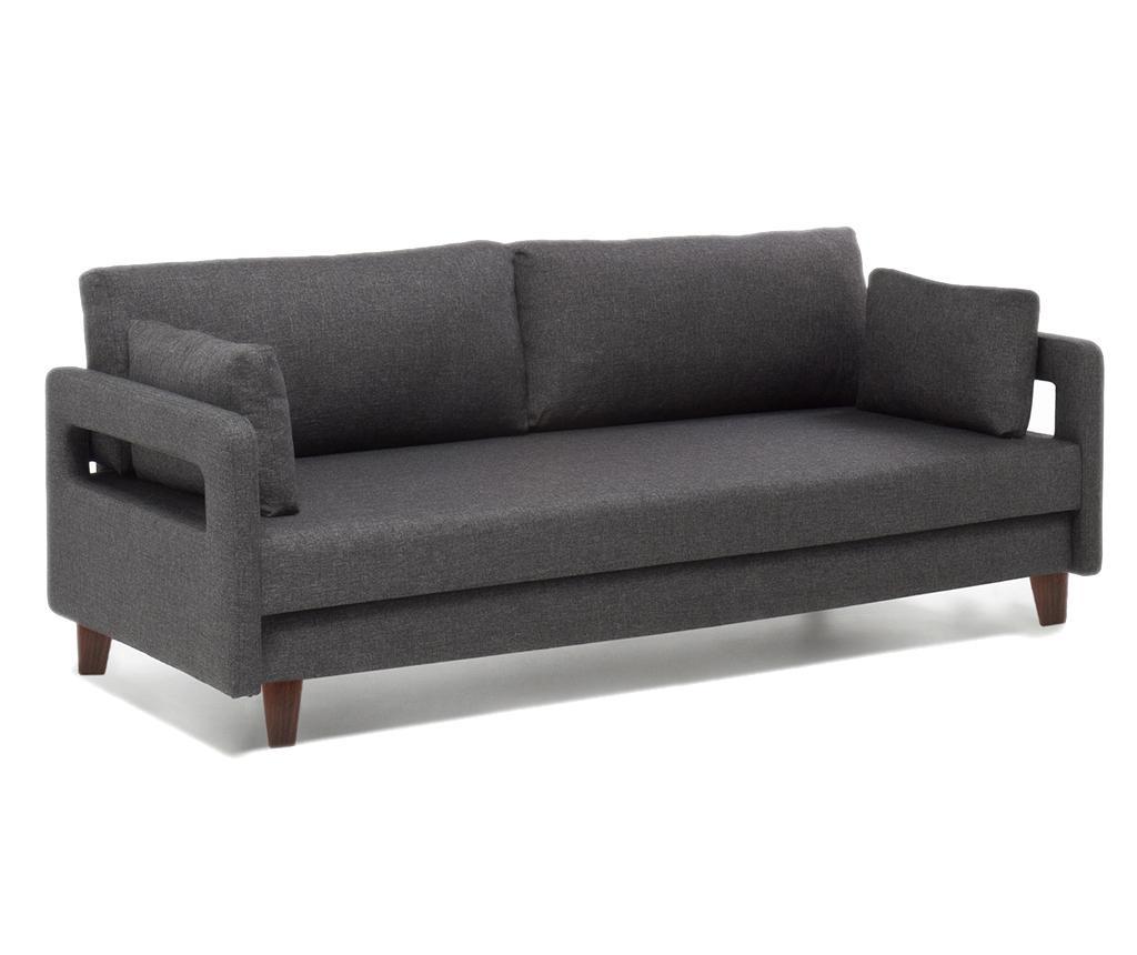 Comfort Grey Háromszemélyes kihúzható kanapé