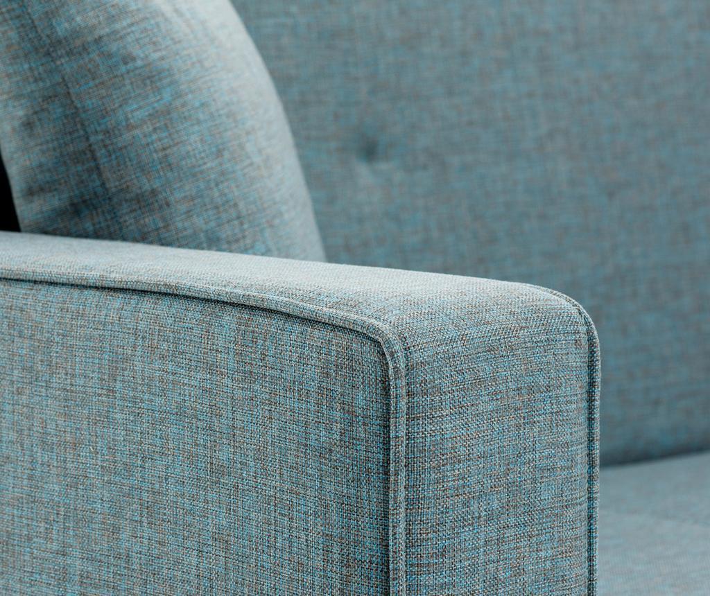 Rozkładana kanapa 3-osobowa Dublin Blue