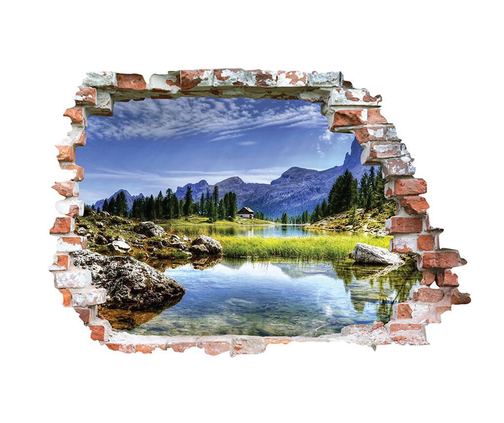 Lac de Montagne 3D Matrica