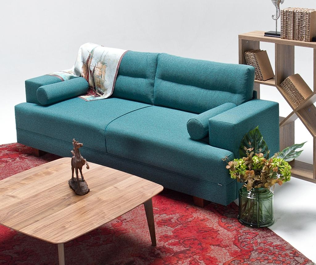 Set trosed in pručka za noge Oslo Turquoise