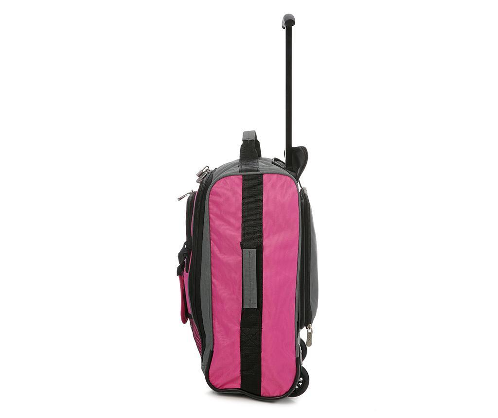 Karen Pink Gurulós Bőrönd Gyerekeknek 30 L