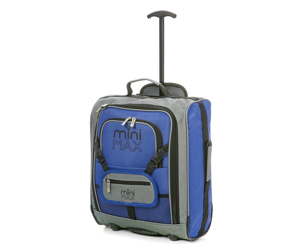 Karen Blue Gurulós Bőrönd Gyerekeknek 30 L