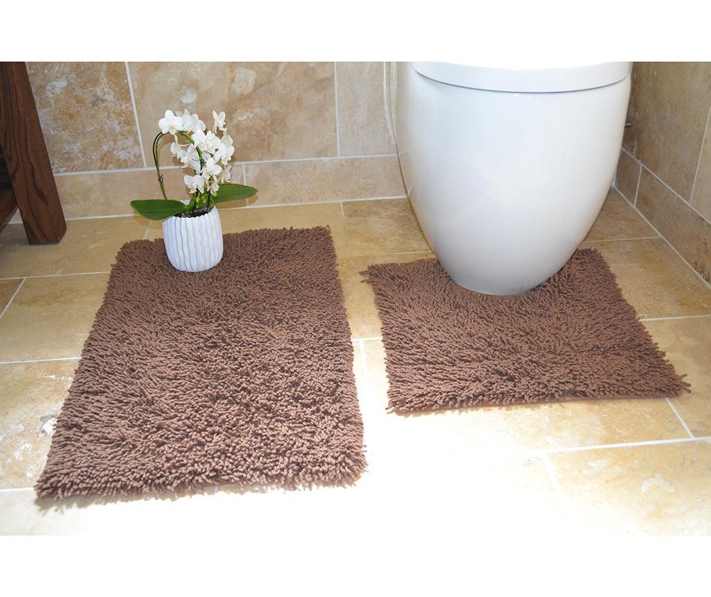 Set 2 kopalniških preprog Ivo Chocolate