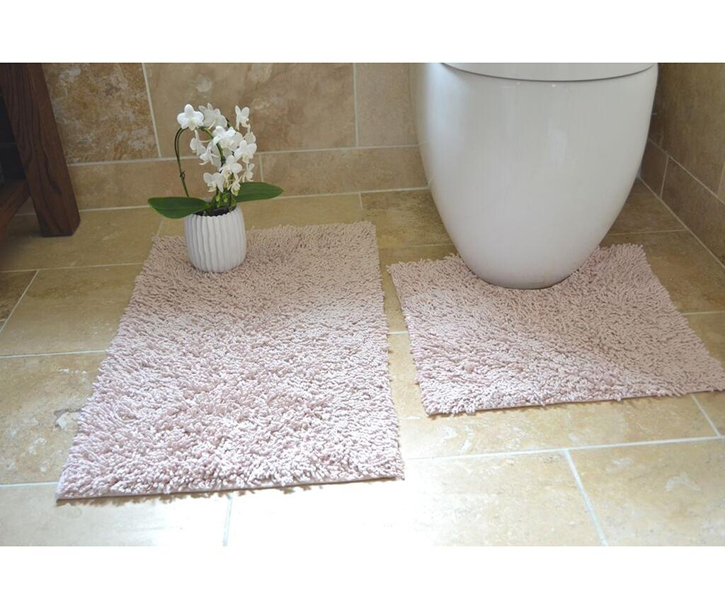Set 2 kupaonska tepiha Ivo Pink