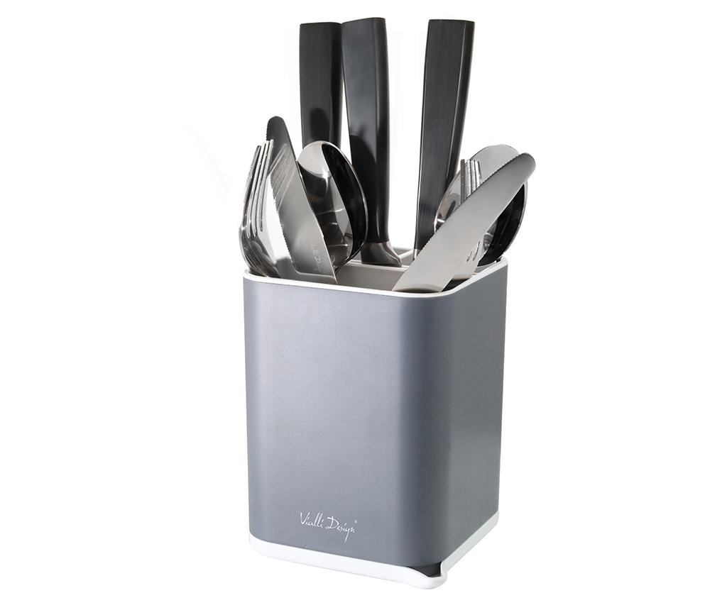 Suport pentru tacamuri Cutlery Grey