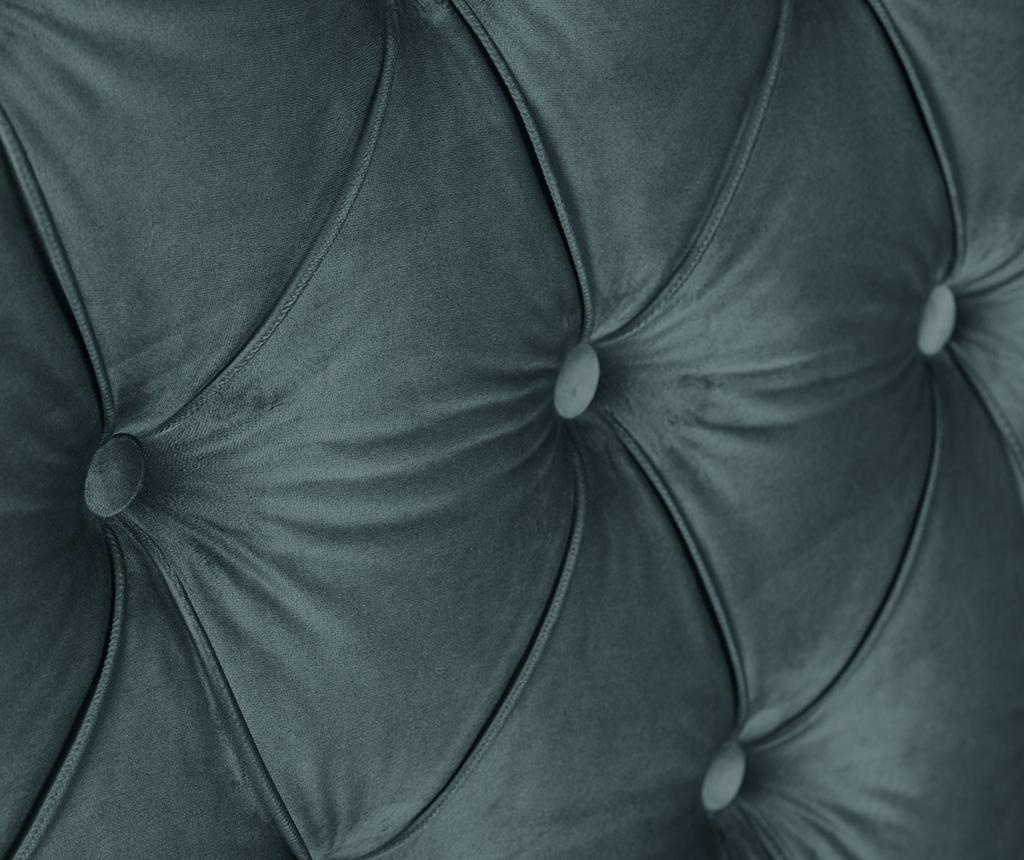 Tablie de pat Cloves Deep Petrol 140 cm