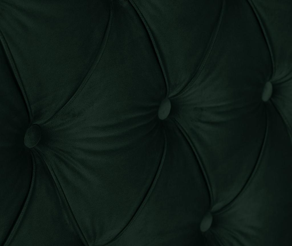 Tablie de pat Cloves Bottle Green 140 cm