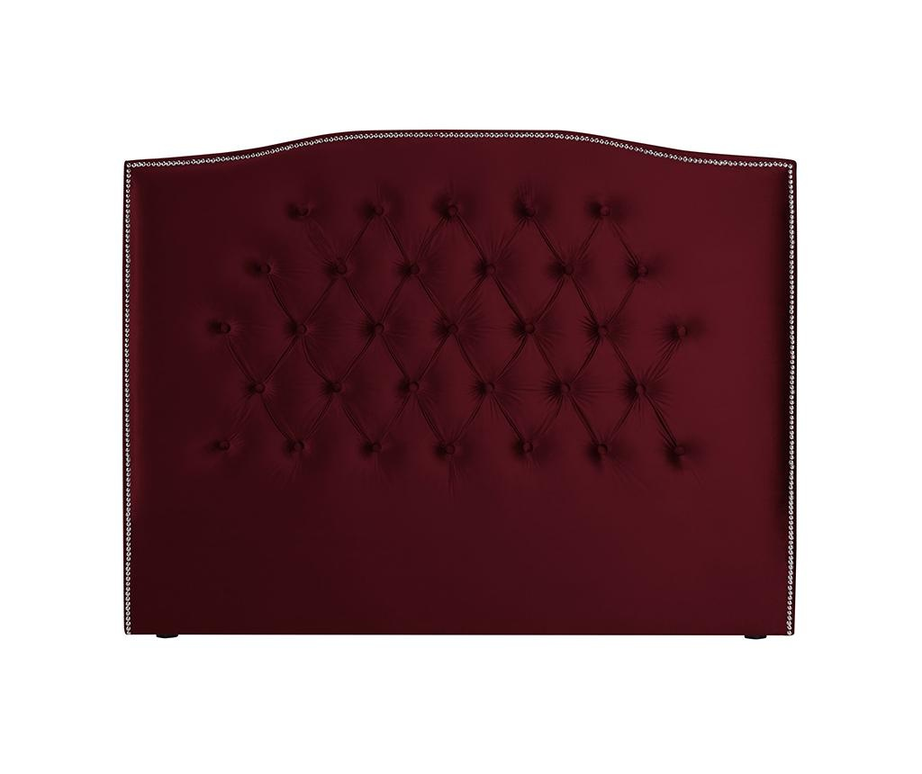Tablie de pat Cloves Red Wine 160 cm